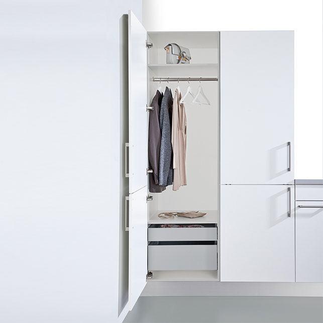 Garderobe hoge kast