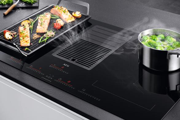 AEG ComboHob: kookplaat met afzuiging