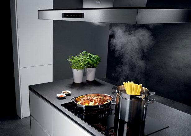AEG kookplaat en afzuigkap met Hob2Hood Connectie