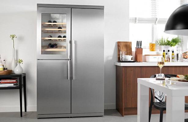 Amerikaanse koelkasten zijn super groot en luxueus. Als je de ruimte hebt dan is zo'n Side-by-side koelkast het einde.