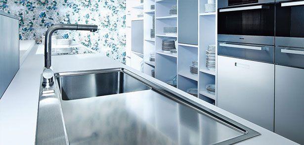 Design keuken NX902 G117 spoelen