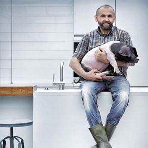 Design keuken NX902 Glas glans kristalgrijs campagne