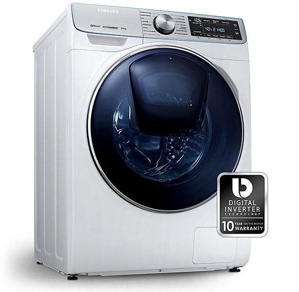 Digital Inverter Technology maakt de QuickDrive wasmachines stil, krachtig & duurzaam.