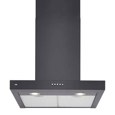 ETNA AB560ZT - Schouwkap Zwart (60 cm)