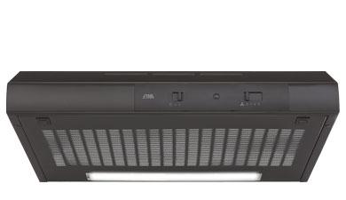 ETNA AO360ZT - Onderbouw afzuigkap zwart (60 cm)