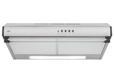 ETNA AO561RVS - Onderbouw afzuigkap RVS (60 cm)