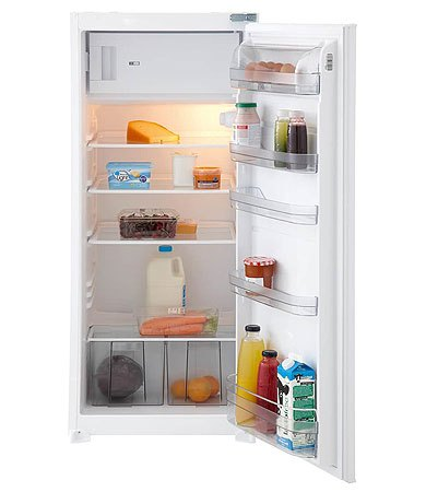 ETNA EEK206VA - Geïntegreerde sleepdeur koelkast met vriesvak (122 cm)