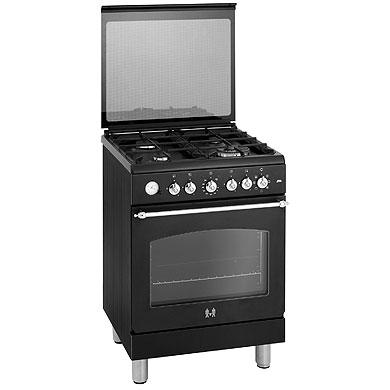 ETNA EFG691BRCA - Gas/elektro rustiek fornuis met wok (60 cm)