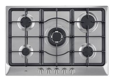 ETNA KG675RVSA - Gaskookplaat met wokbrander (75 cm)