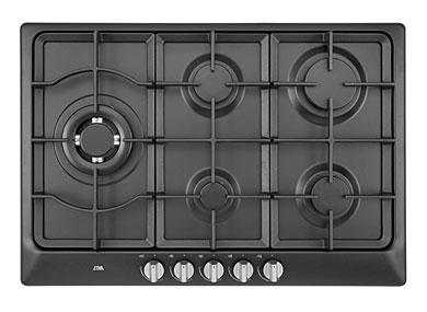 ETNA KG775ZTA - Gaskookplaat met wokbrander (75 cm)