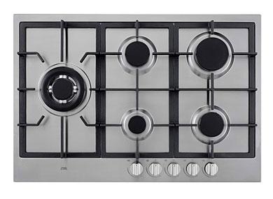 ETNA KG875RVSA - Gaskookplaat met wokbrander (75 cm)