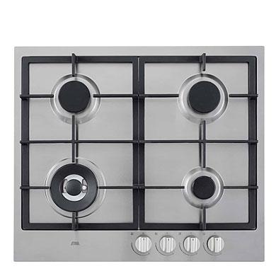 ETNA KG959RVSA - Gaskookplaat met wokbrander 59 cm
