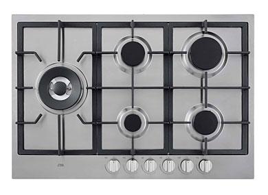 ETNA KGF875RVSA - Gaskookplaat met wokbrander (75 cm)