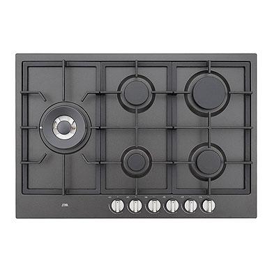 ETNA KGF875ZTA - Gaskookplaat met wokbrander (75 cm)