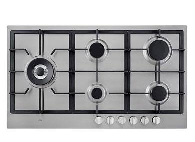 ETNA KGF889RVSA - Gaskookplaat met wokbrander (90 cm)