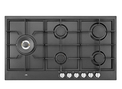 ETNA KGF889ZTA - Gaskookplaat met wokbrander (89 cm)