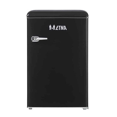 ETNA KKV5055ZWA - Retro tafelmodel koelkast (90 cm), Zwart