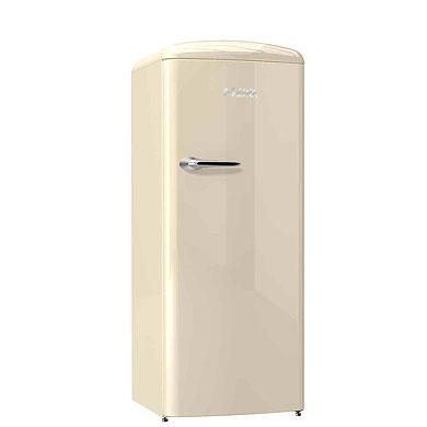 ETNA KVV754BEI - Retro koelkast met vriesvak (154 cm), Beige
