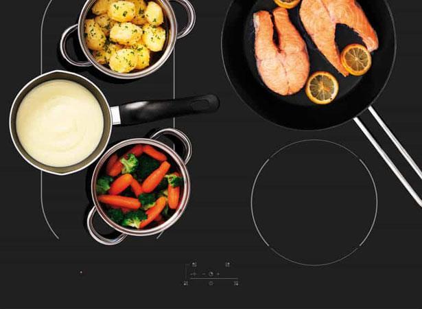 Energiezuinig koken op een ETNA inductie kookplaat