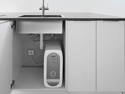 GROHE Blue Home koeler – de compacte manier om leidingwater te koelen, laten bruizen en filteren