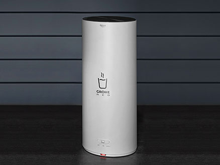 GROHE Rode L-Size boiler - direct kokend heet water wanneer je het nodig hebt