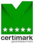 Certimark Garantiekeurmerk 5 sterren
