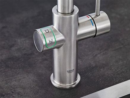 LED drukknop voor eenvoudige bediening