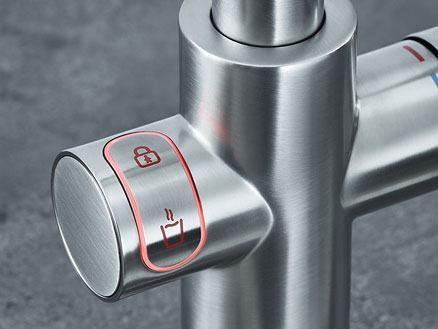LED-push-knop activering van kinderbeveiliging voor bescherming en totale gemoedsrust