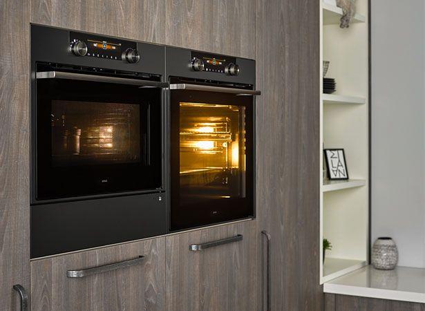 De Matrix-ovens hebben een kenmerkend 'frame' design.