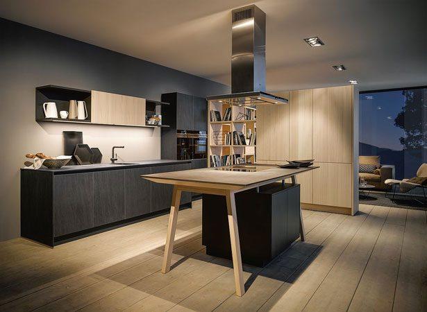 NX 950 keuken met open regalen