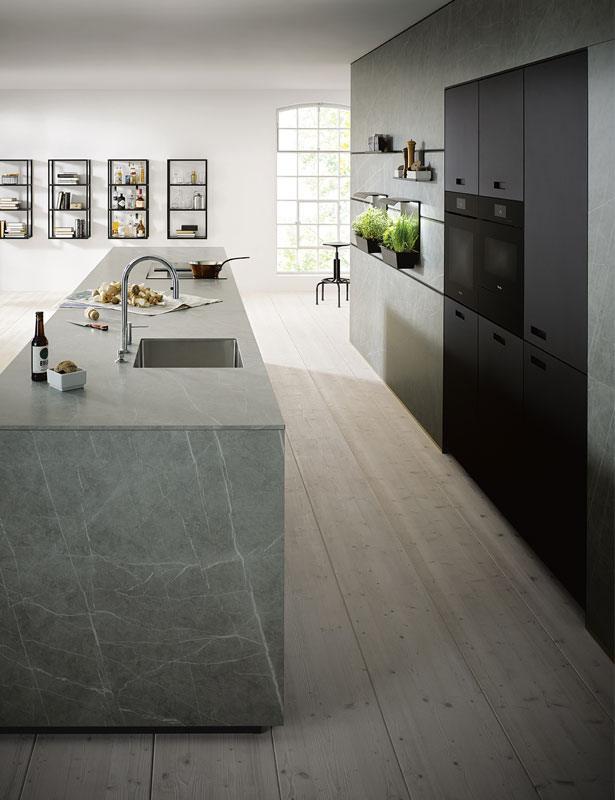Next125 NX 950 - Royaal keukenblok keramiek marmer grigio