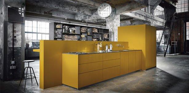 Next125 keuken - NX 500 Safraangeel satijn