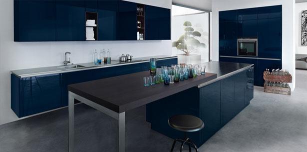 Next125 keuken - NX 501 Indigoblauw hoogglans