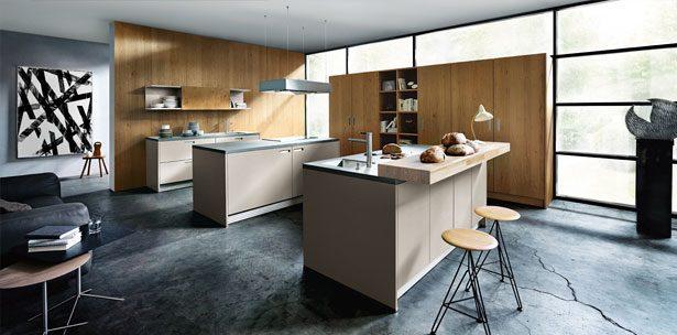 Next125 keuken - NX 510 Zandgrijs mat
