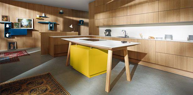 Next125 keuken - NX 605 Eiken natuur gezaagd