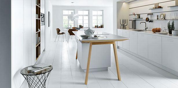 Next125 keuken - NX 800 greeploos in de kleur polariswit