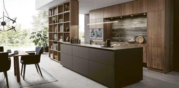 Next125 keuken NX 870 Fenix mokka bruin