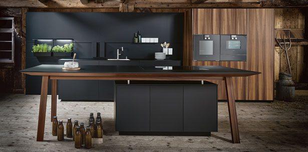next125 keuken - NX 870 Fenix onyxzwart