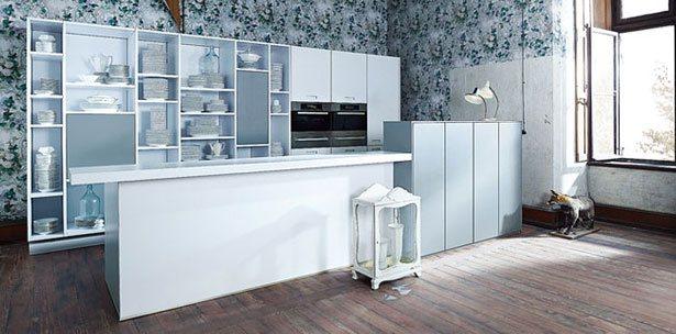 Next125 keuken - NX 902 Glas mat in polariswit