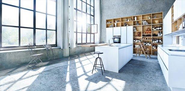 Next125 keuken - NX 902 Glas mat polariswit