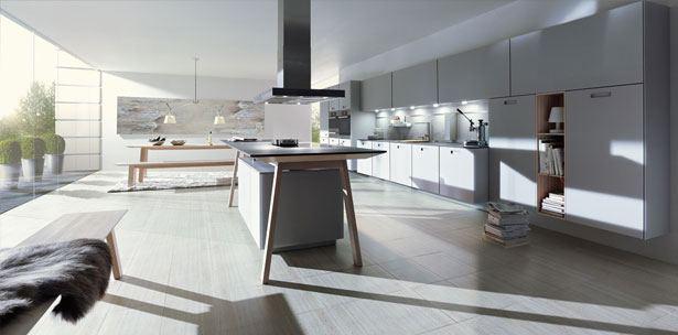Next125 keuken - NX 902 Glas mat steengrijs