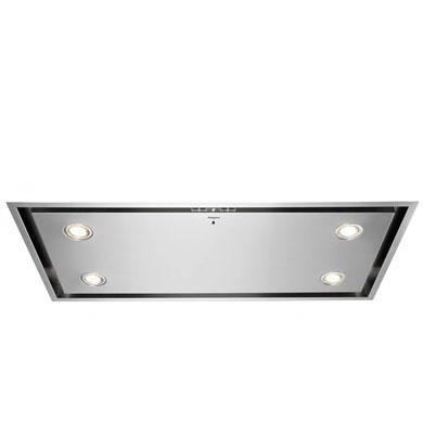 Pelgrim ISW1000RVS - Luxe plafondunit met randafzuiging, 100 cm breed