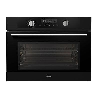 Pelgrim MAC524MAT - Multifunctionele oven met magnetronfunctie, nis 45 cm