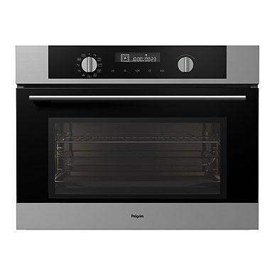 Pelgrim MAC524RVS - Multifunctionele oven met magnetronfunctie, nis 45 cm