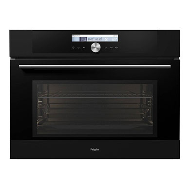Pelgrim MAC624MAT - Multifunctionele oven met magnetronfunctie, nis 45 cm