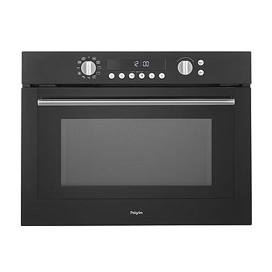 Pelgrim MAC696MAT - Hetelucht oven met magnetronfunctie, nis 45 cm