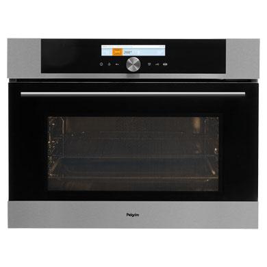 Pelgrim MAC824RVS - Multifunctionele oven met magnetronfunctie, nis 45 cm