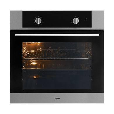 Pelgrim OVM326RVS - Hetelucht oven, nis 60 cm