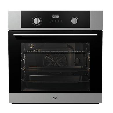 Pelgrim OVM426RVS - Hetelucht oven, nis 60 cm