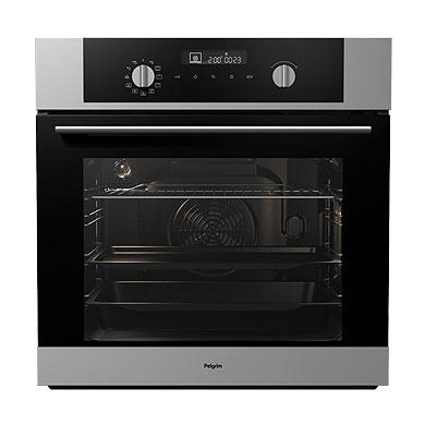 Pelgrim OVM526RVS - Multifunctionele oven, nis 60 cm